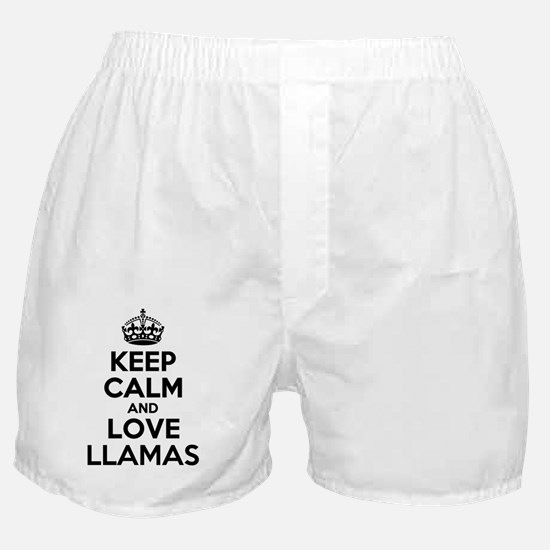 Unique Llamas Boxer Shorts