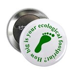 Ecological Footprint Ecology Button