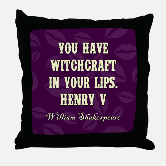 YOU HAVE... Throw Pillow