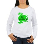 Go Green Frog Ecology Women's Long Sleeve T-Shirt