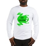 Go Green Frog Ecology Long Sleeve T-Shirt