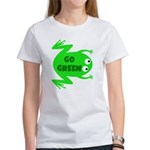Go Green Frog Ecology Women's T-Shirt