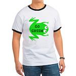 Go Green Frog Ecology Ringer T