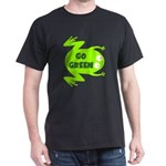 Go Green Frog Ecology Dark T-Shirt
