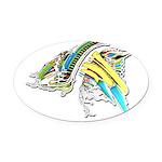 Design 160402 Oval Car Magnet