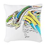 Design 160402 Woven Throw Pillow