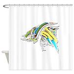 Design 160402 Shower Curtain