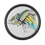 Design 160402 Large Wall Clock