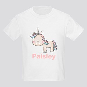 Paisley's Little Unicorn Kids Light T-Shirt