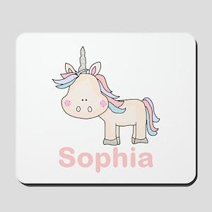Sophia's Little Unicorn Mousepad