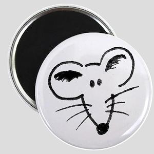 Rat Face Magnet