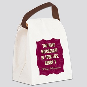 YOU HAVE... Canvas Lunch Bag