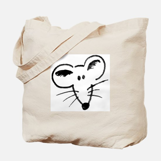 Rat Face Tote Bag