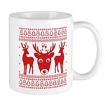 christmas deer shirt Mugs