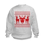 christmas deer shirt Sweatshirt