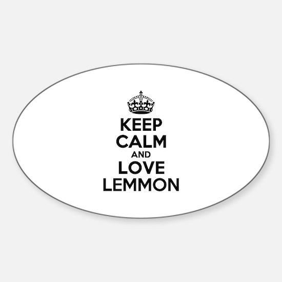 Keep Calm and Love LEMMY Decal