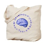 Brain Icon Tote Bag