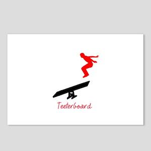 Teeterboard Postcards (Package of 8)