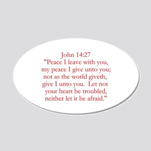 John 14:27 Wall Decal
