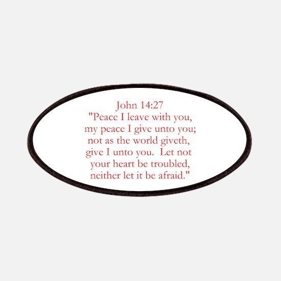 John 14:27 Patch