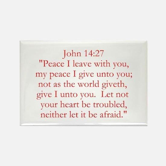 John 14:27 Magnets