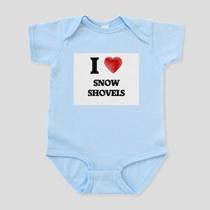 I love Snow Shovels Body Suit