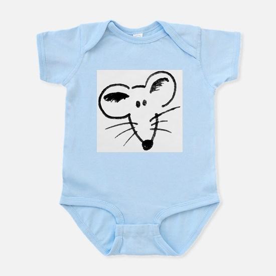 Rat Face Infant Bodysuit