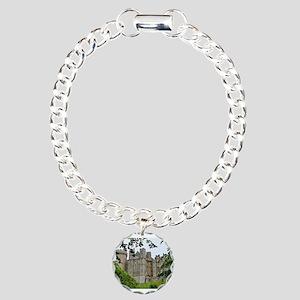 Arundel Castle, England Charm Bracelet, One Charm