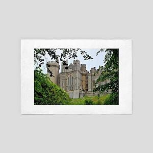 Arundel Castle, England 4' x 6' Rug