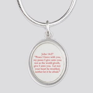 John 14:27 Necklaces