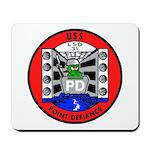USS Point Defiance (LSD 31) Mousepad