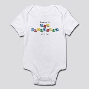 New Hampshire Infant Bodysuit