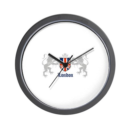 Union lions Wall Clock