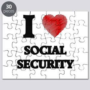 I love Social Security Puzzle