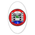 USS Point Defiance (LSD 31) Oval Sticker
