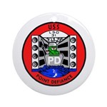 USS Point Defiance (LSD 31) Ornament (Round)