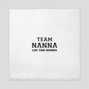 Team NANNA, life time member Queen Duvet