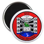 """USS Point Defiance (LSD 31) 2.25"""" Magnet (10 pack)"""