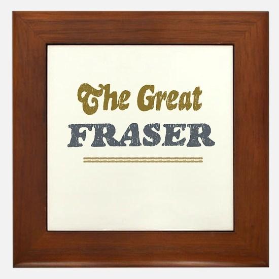 Fraser Framed Tile