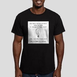 Social Work Light Bulb Joke T-Shirt