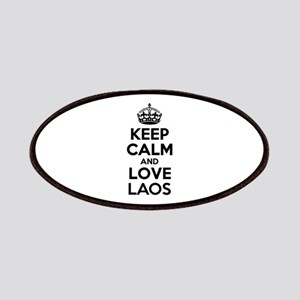 Keep Calm and Love LAOS Patch