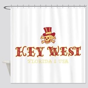 Key West Pirate - Shower Curtain