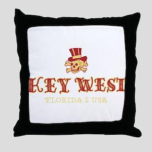 Key West Pirate - Throw Pillow