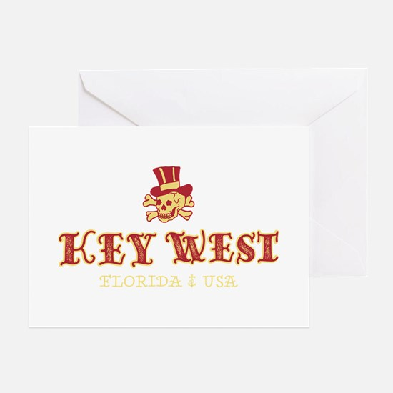 Key West Pirate - Greeting Card