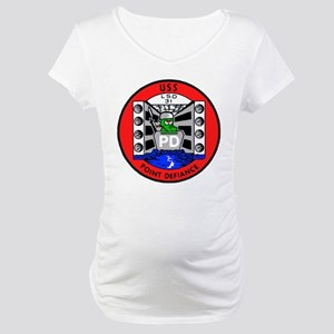 USS Point Defiance (LSD 31) Maternity T-Shirt