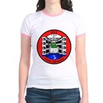 USS Point Defiance (LSD 31) Jr. Ringer T-Shirt