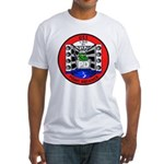 USS Point Defiance (LSD 31) Fitted T-Shirt