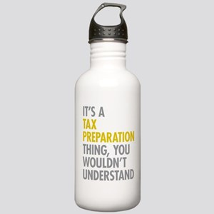 Tax Preparation Stainless Water Bottle 1.0L