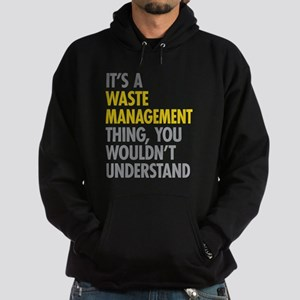 Waste Management Hoodie (dark)