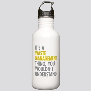 Waste Management Stainless Water Bottle 1.0L